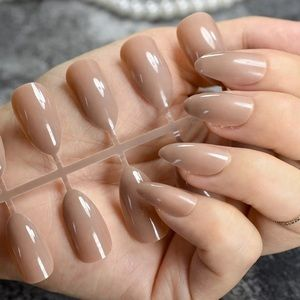 NWT nude brown nails